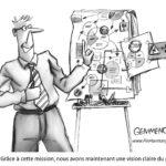 illustration présentation organisation