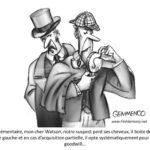 illustration sherlock holmes